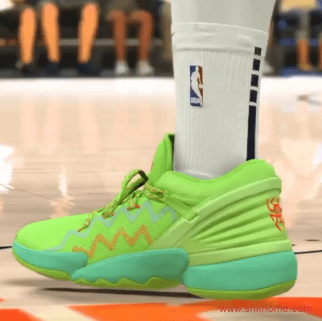 米切尔二代绿色战靴 adidas D.O.N. Issue 2.0 阿迪达斯实战篮球鞋-潮流者之家
