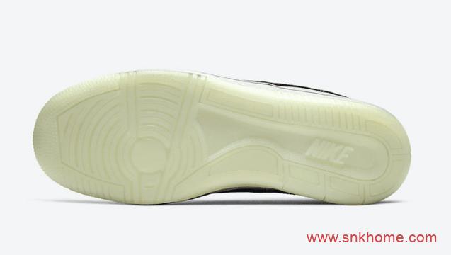 "Nike Sky Force 3/4 ""Snakeskin Swoosh""  耐克鸳鸯蛇纹 耐克鸳鸯板鞋 货号:CW7074-100-潮流者之家"