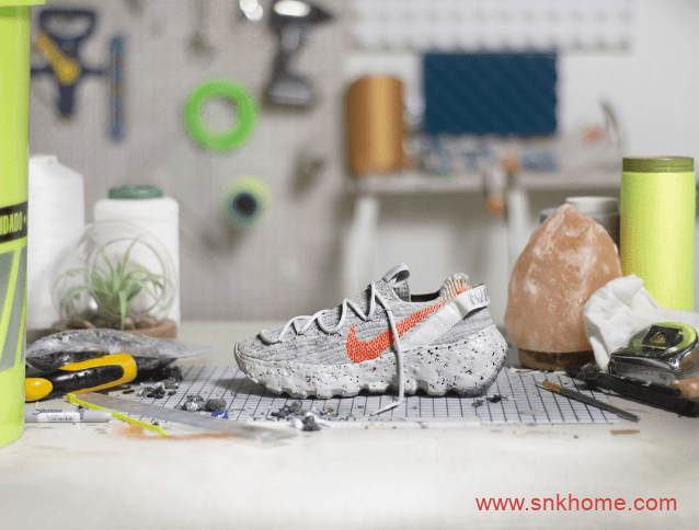 耐克NIKE废料回收变球鞋发售日期 耐克未来鞋 Nike Space Hippie「可回收系列」-潮流者之家