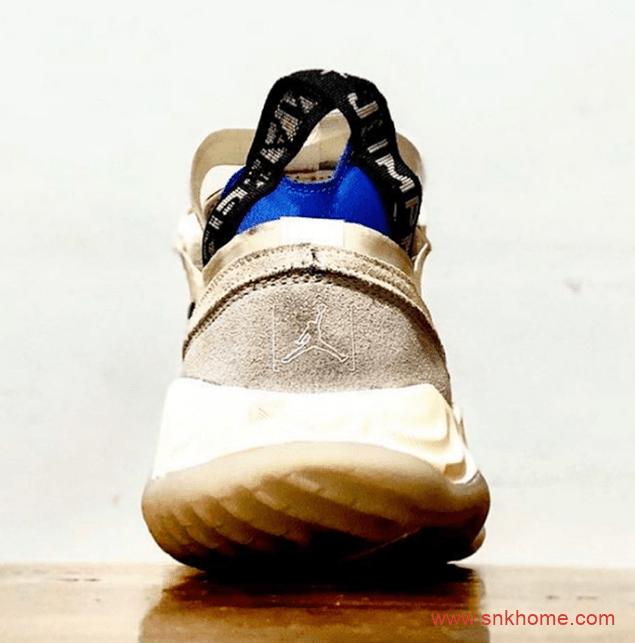 陈冠希主理的乔丹运动鞋 Jordan 新鞋迎来特殊版本 米黄色乔丹跑鞋实战篮球鞋-潮流者之家