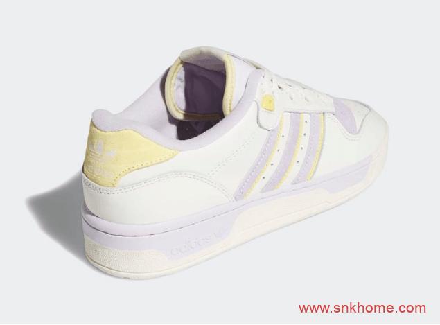 adidas Rivalry Low 阿迪达斯复古小白鞋 阿迪达斯女神小姐姐专属板鞋 货号:EF6413-潮流者之家