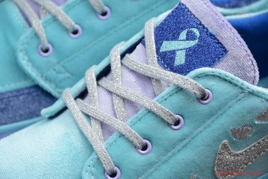 NIKE SB Zoom Janoski RM Doernbecher Freestyle 耐克SB板鞋慈善蓝色 货号:CV2365-400-潮流者之家