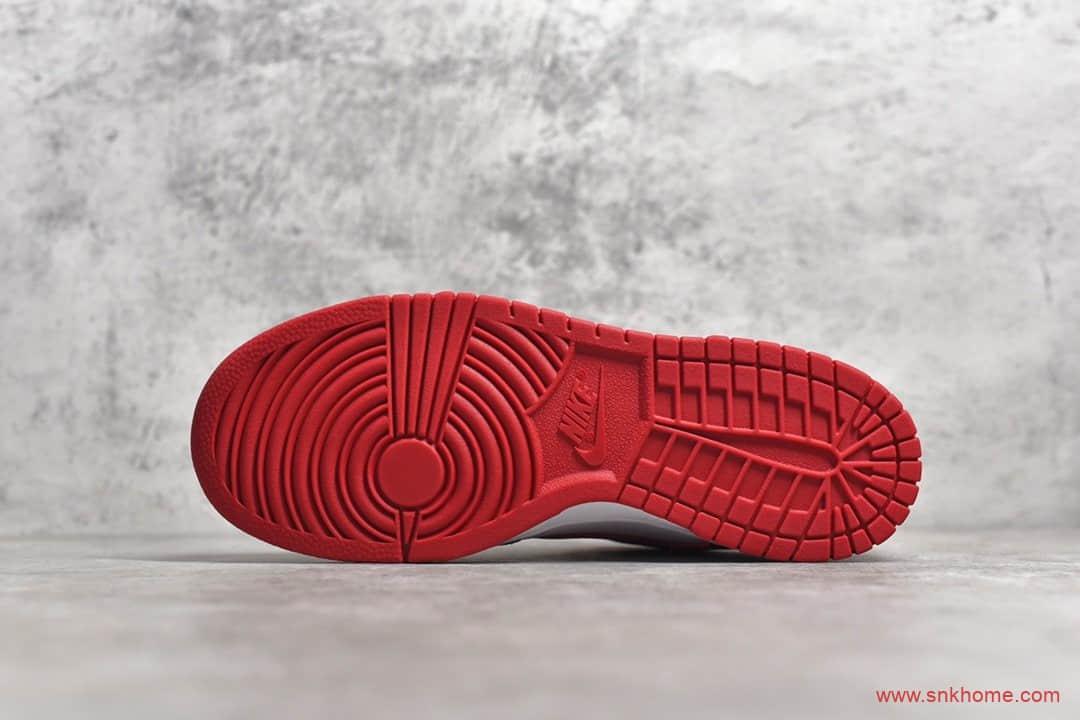 头层牛皮 公司级耐克Dunk SB经典白红板鞋复刻 NIKE Dunk SB Low 货号:CU1727-100-潮流者之家