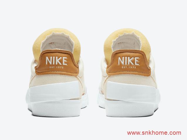 """Nike Drop-Type Premium """"Light Cream""""  耐克N.354新款板鞋发售日期 货号:CW6213-212-潮流者之家"""