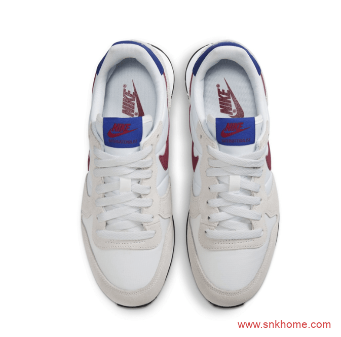 Nike Internationalist 耐克经典华夫米白色跑鞋官图释出 耐克复古跑鞋发售价格-潮流者之家