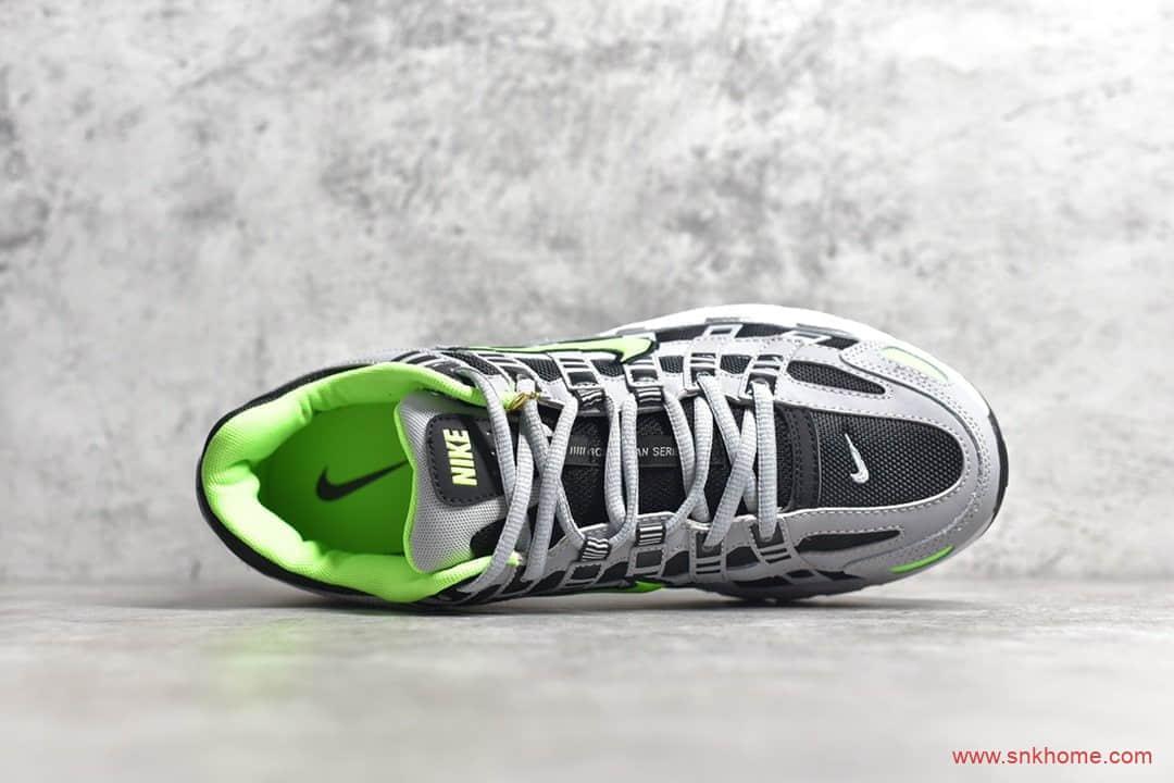 NIKE P-6000 复古科技个性老爹鞋 耐克P-6000灰色跑鞋 货号:CD6404-006-潮流者之家