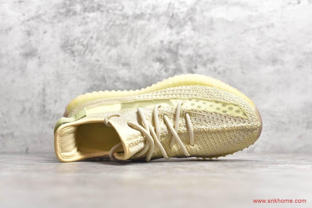 "OG纯原版本 Adidas Yeezy Boost 350V2 ""Flax"" 椰子350V2亚麻亚洲限定 货号:FX9028-潮流者之家"