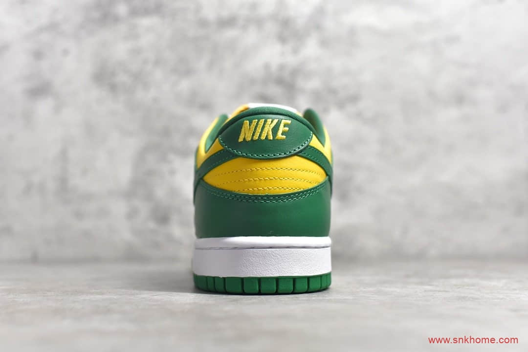 NIKE Dunk Low Brazil巴西 H12纯原版本耐克Dunk SB板鞋黄绿 货号:CU1727-700-潮流者之家
