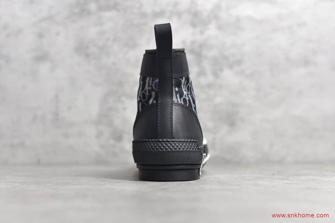 """迪奥B23系列 迪奥网纱鞋 正品迪奥复刻 Dior B23 Oblique High Top Sneakers""""CD重影""""-潮流者之家"""
