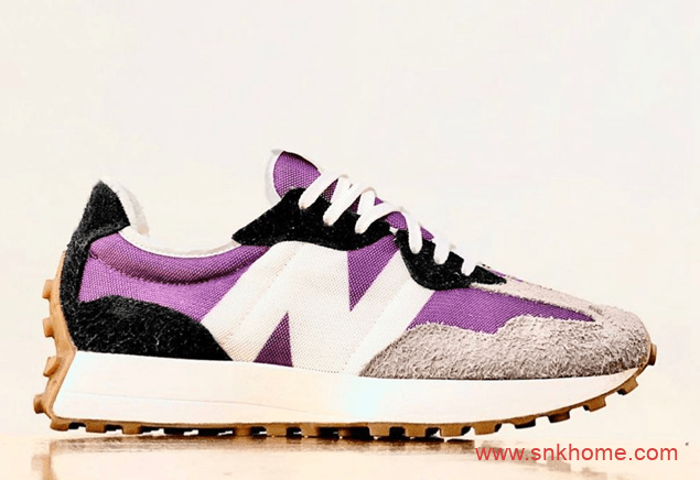 New Balance 新百伦新款NB327紫色鞋面新配色 NB327新鞋款版型今年简直不要太火-潮流者之家