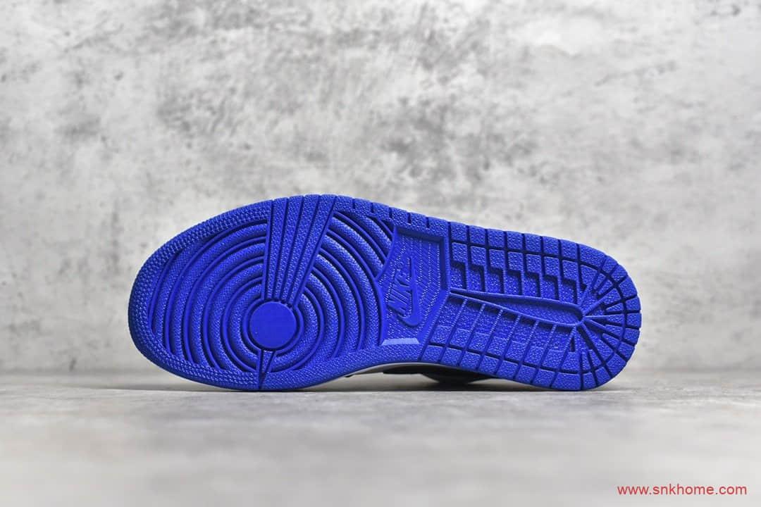 小红书爆款 OG纯原版本AJ1低帮黑蓝配色 Air Jordan 1 Low 货号:CQ9446-400-潮流者之家