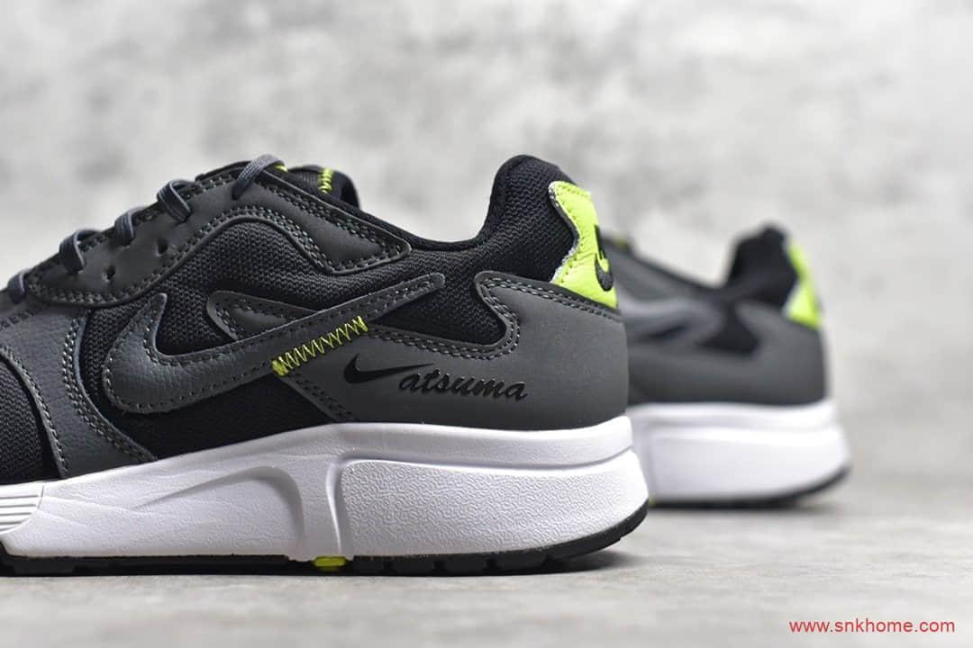莆田顶级耐克Atsuma跑鞋 NIKE复古经典黑色跑鞋 货号:CD5461-002-潮流者之家