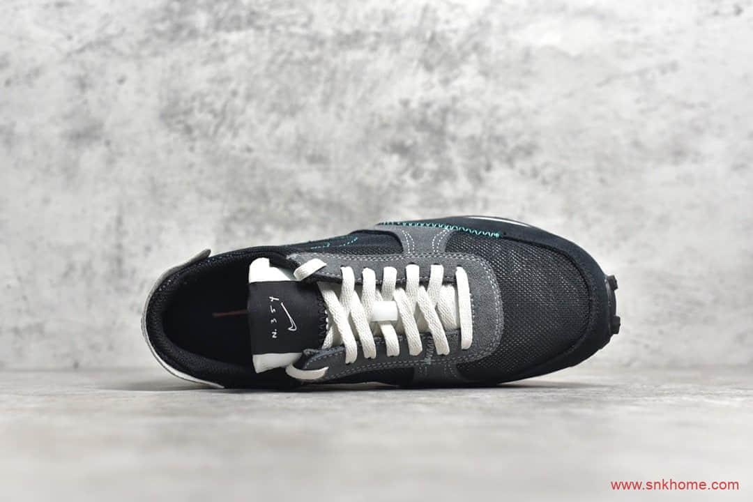 NIKE Daybreak N.354 纯原版本耐克N.354系列黑色网面透气跑鞋 货号:CJ1156-001-潮流者之家