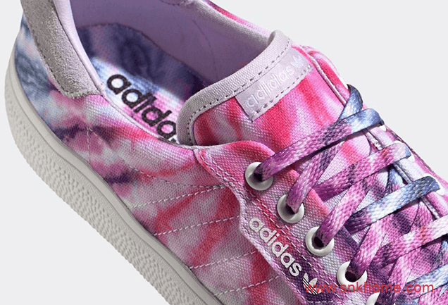 "adidas 3MC ""Tie-Dye""  阿迪达斯夏天板鞋全新扎染配色即将发售 货号:FY2448-潮流者之家"