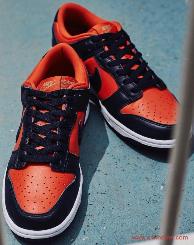 "Nike Dunk Low SP ""Champ Colors"" 复古蓝橙色耐克Dunk芬兰配色复刻发售日期 货号:CU1727-800-潮流者之家"