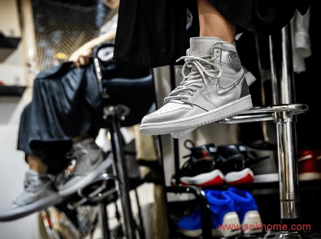 "Air Jordan 1 ""Japan""  日本限定AJ1高帮白银配色超级限量配色发售日期 货号:DC1788-029-潮流者之家"