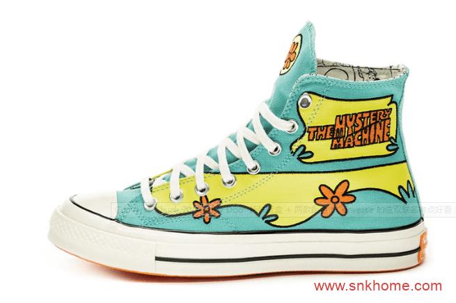特殊鞋盒Scooby Doo x Converse Chuck 70 Hi 匡威史酷比联名款两个配色已发售-潮流者之家