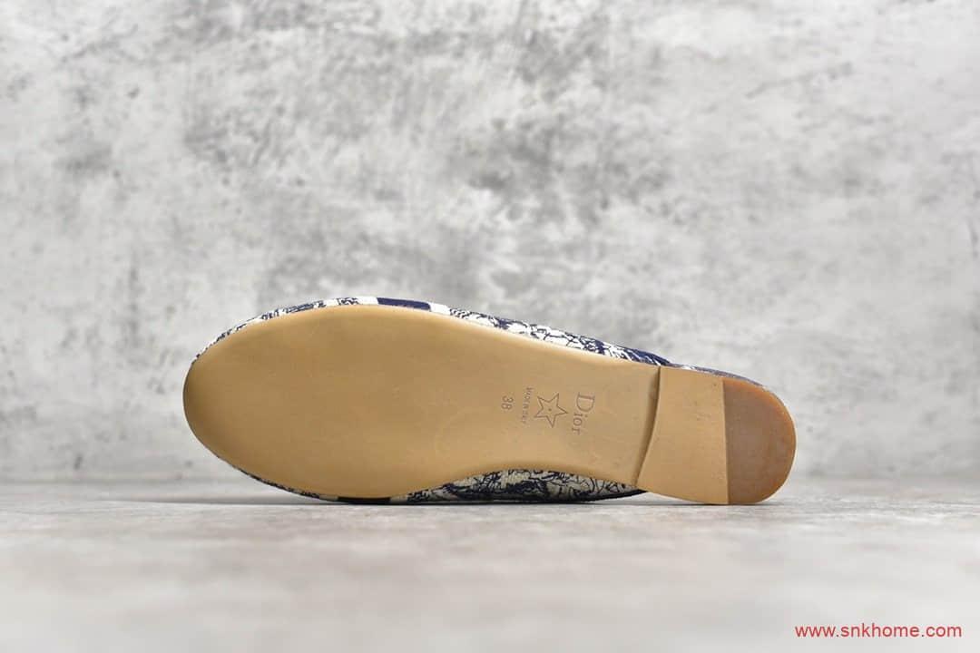 2020新款Dior 20s迪奥电绣半拖鞋 高端复刻迪奥正品半拖鞋-潮流者之家