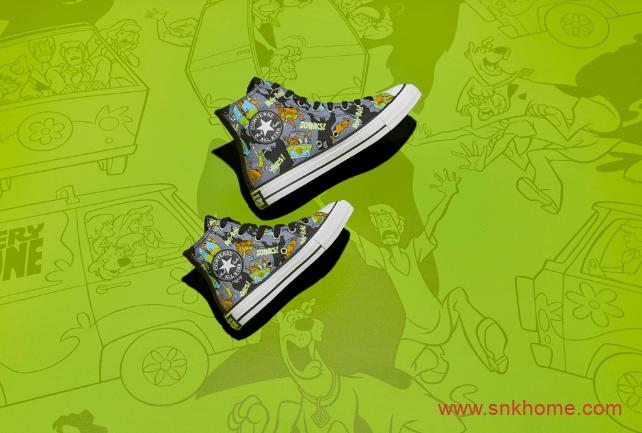史酷比 x Converse 匡威史酷比联名卡通主题两款新配色即将发售-潮流者之家