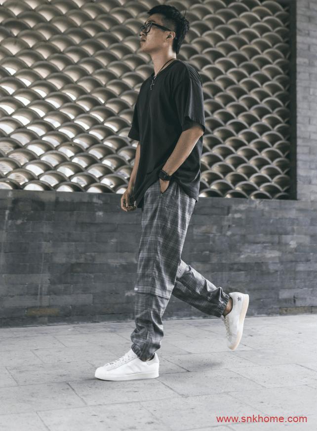 阿迪达斯限量款 最难抢!阿迪达斯adidas Superstar陈奕迅联名款上脚图-潮流者之家