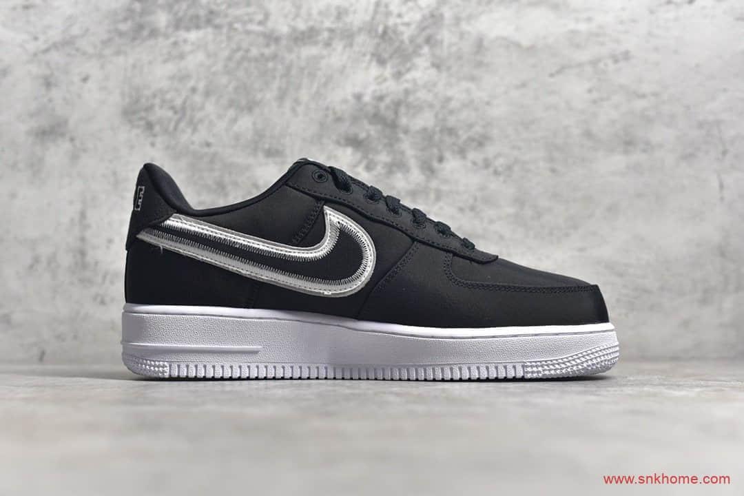 纯原版本耐克空军一号黑白配色 Nike Air Force 1 Low