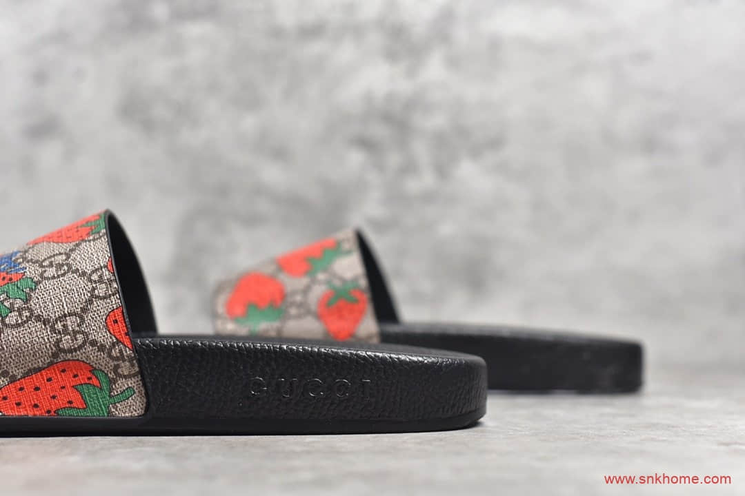 古驰正品 驰CUCCI 3D印花拖鞋 古驰字母拖鞋代购指定版本-潮流者之家