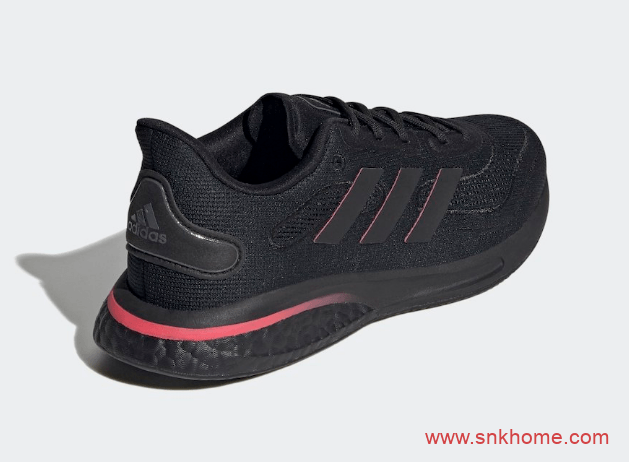 adidas Supernova 阿迪达斯BOOST加上Bounce双重缓震黑色跑鞋发售价格-潮流者之家