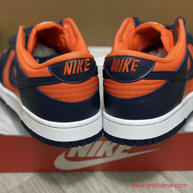 "Nike Dunk Low SP ""Champ Colors"" 耐克Dunk板鞋复刻经典蓝橙配色发售日期 货号:CU1727-800-潮流者之家"