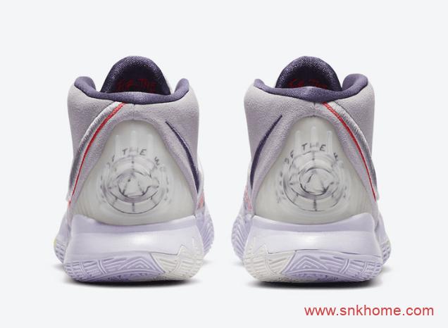 NIKE Kyire 6 欧文6代战靴紫迷彩配色致敬欧文姐姐官网已经上架-潮流者之家