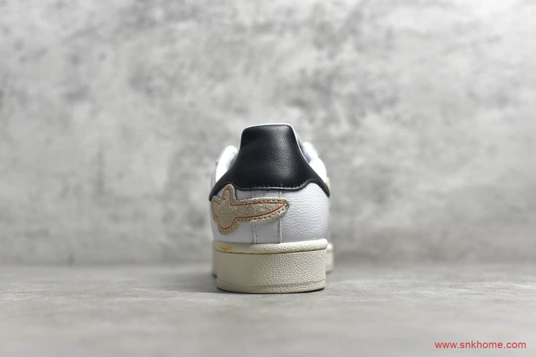 "Mark Gonzales x adidas Superstar ""Shmoo""阿迪达斯贝壳头和平鸽子 货号:FW8029-潮流者之家"
