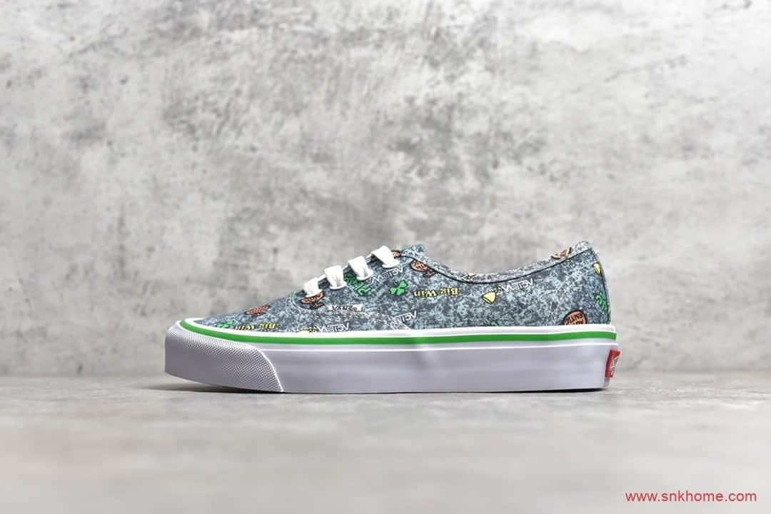 Vans Vault x Fergadeli 万斯艺术家联名款 万斯印花帆布鞋 货号:VN0A4BV9062-潮流者之家