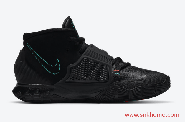 "Nike Kyrie 6 ""Eleven"" 欧文6代黑色球鞋 欧文就是因为这个原因喜欢11这个数字 货号:BQ4630-006-潮流者之家"