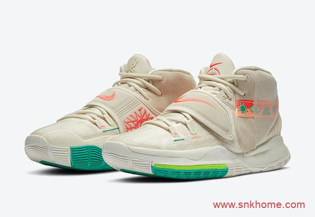 Nike N7 2020耐克定番系列 耐克N7名族风花卉 含有欧文6篮球鞋-潮流者之家