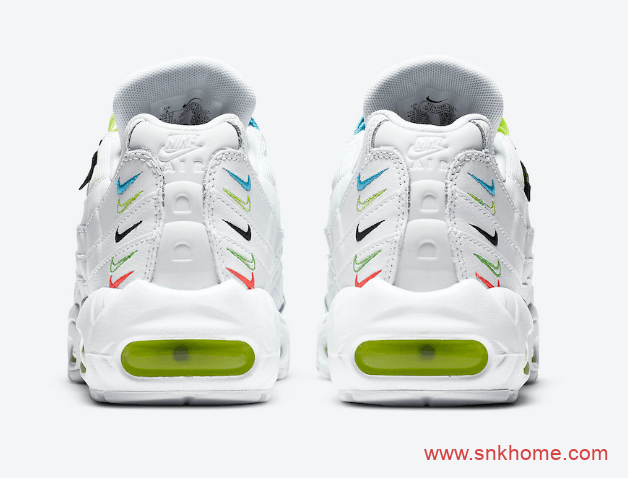 "Nike Air Max 95 ""Worldwide"" 耐克MAX95白绿鸳鸯鞋独特串标设计太好看 货号:CV9030-100-潮流者之家"
