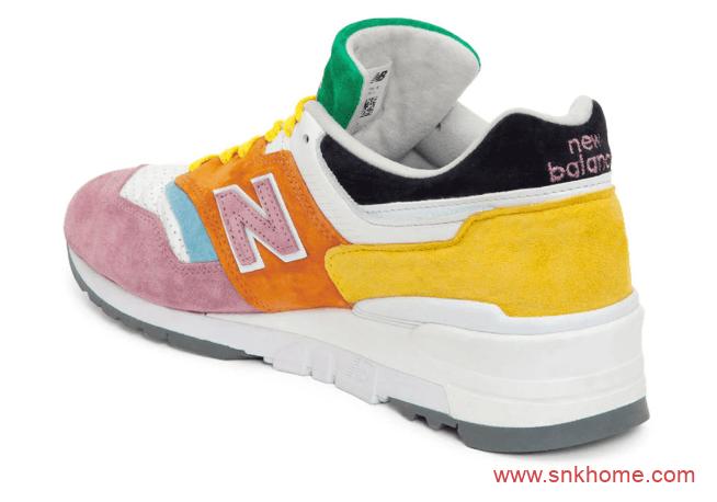 New Balance 997彩蛋 新百伦NB997多色拼接彩色跑鞋实物图-潮流者之家