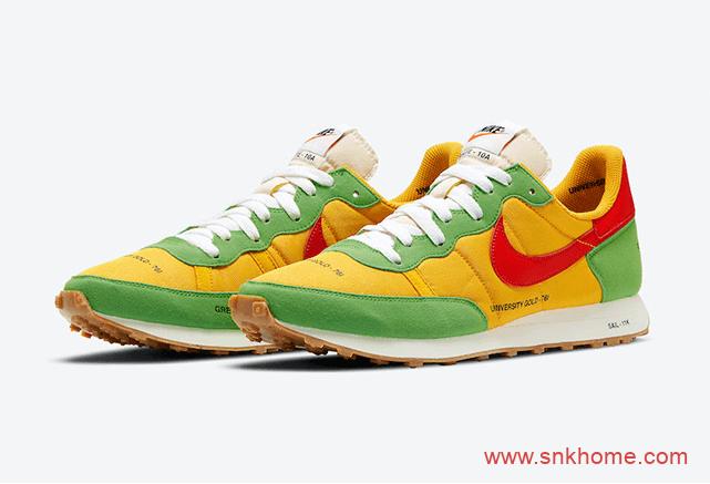 Nike Challenger OG 耐克华夫黄绿红配色跑鞋OG风格 耐克华夫番茄炒鸡蛋官图释出 货号:CZ9072-763-潮流者之家