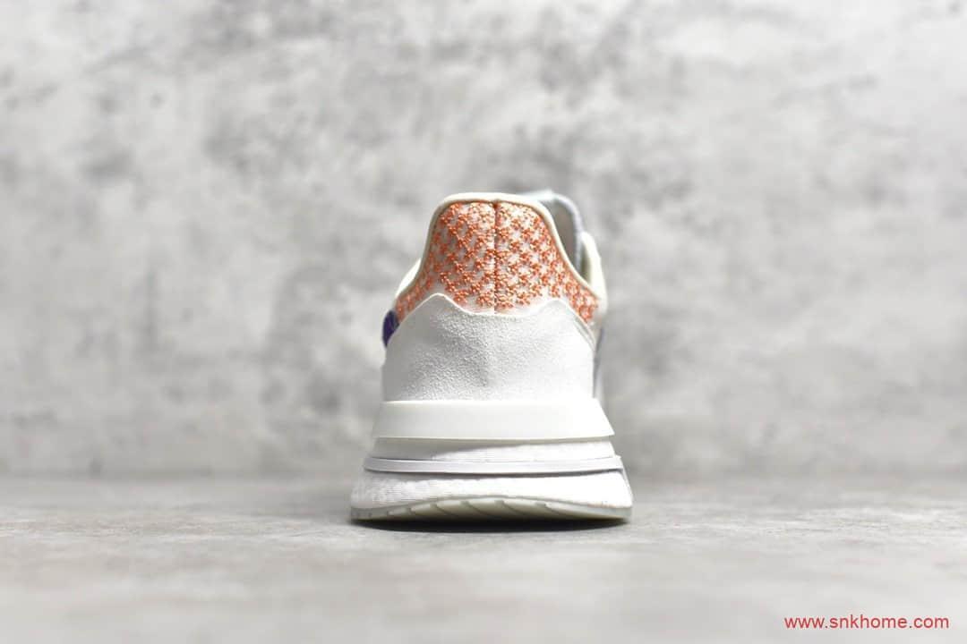 阿迪达斯ZX500 BOOST跑鞋 Adidas ZX500 RM Boost阿迪达斯巴斯夫真爆 货号:DB3510-潮流者之家