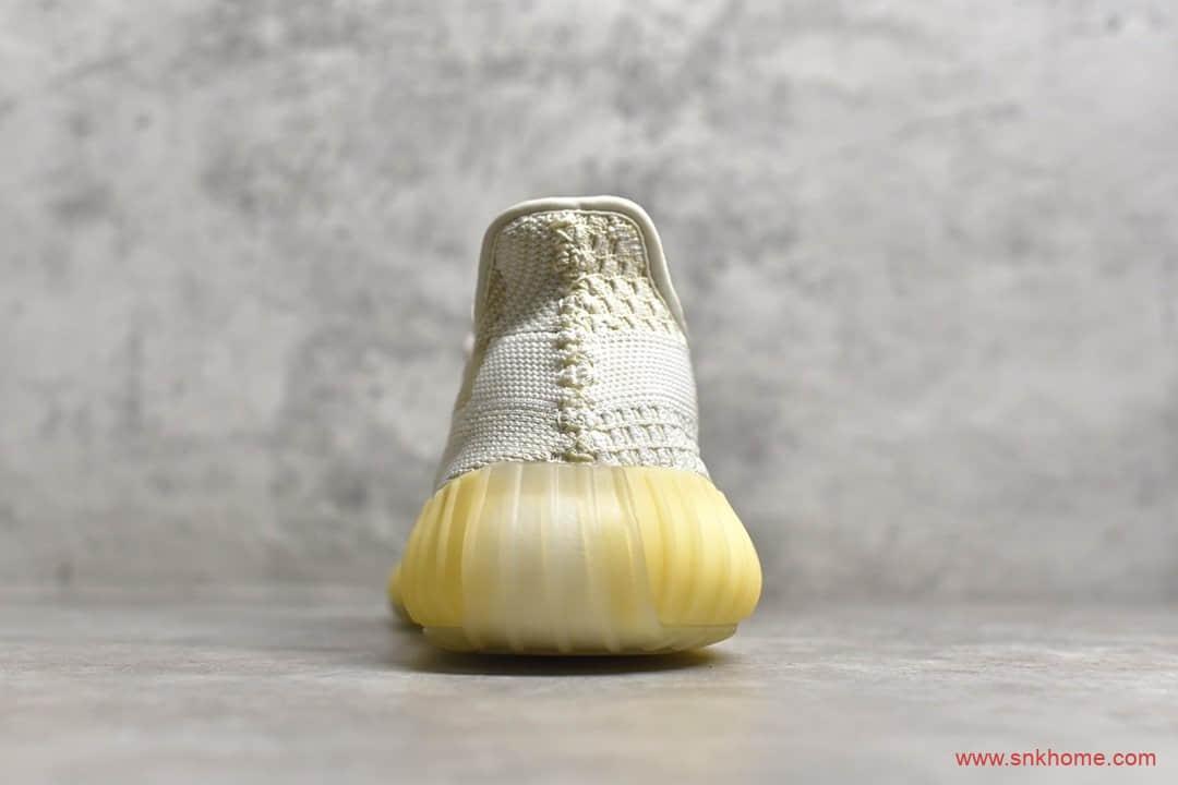 莆田纯原版本椰子Yeezy 350 V2 椰子350氧化天使姜黄色 货号:FZ5246-潮流者之家