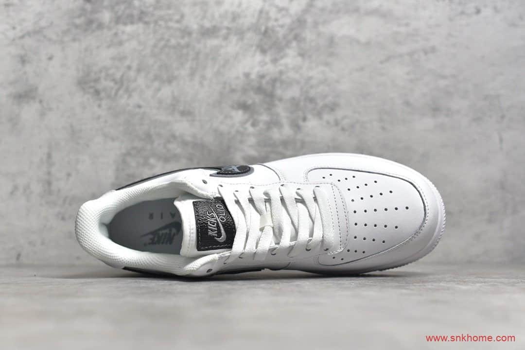 耐克空军白黑低帮 NIKE Air Force 1 Low '07纯原版本耐克空军LV联名低帮板鞋 货号:AR7719-101-潮流者之家