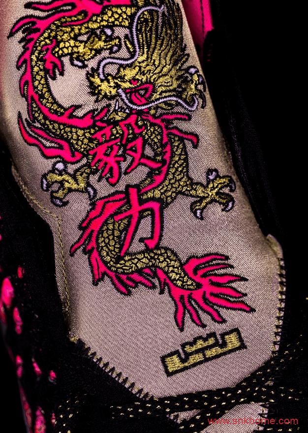 Nike LeBron 17 Courage 詹姆斯17代战靴 周杰伦同款球鞋 詹姆斯勇气毅力中国风球鞋 货号:CD5054-001-潮流者之家
