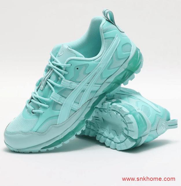 亚瑟士小白鞋 ASICS SportStyle × GmbH GEL-NANDI 360 亚瑟士薄荷绿跑鞋 货号:1021A415-100/1021A415-401-潮流者之家