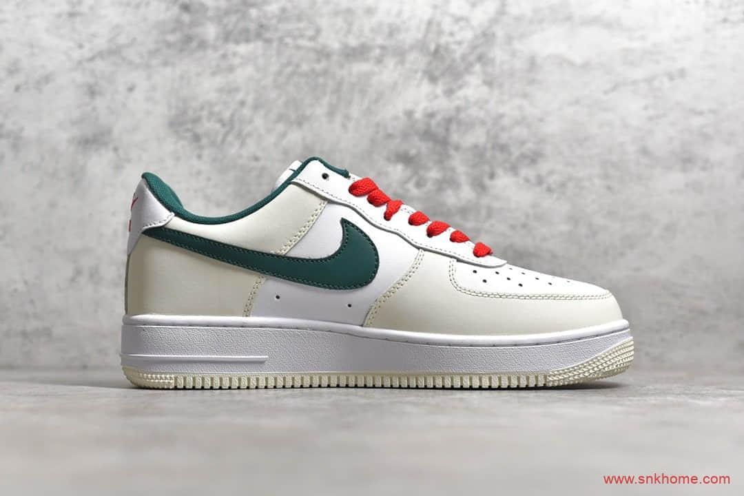 Nike Air Force 1 Low '07 纯原版本耐克空军米白绿 货号:FF0902-012-潮流者之家