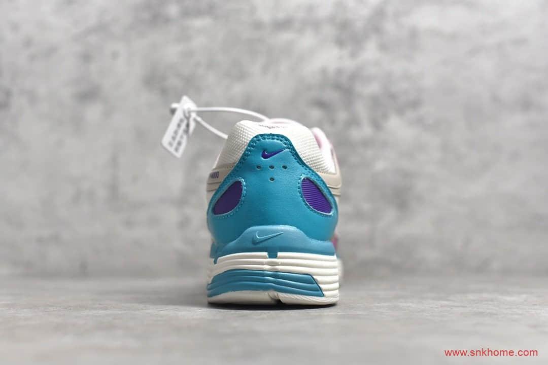 耐克灰白粉蓝复古老爹鞋 NIKE P-6000个性跑鞋 货号:CK2981-031-潮流者之家