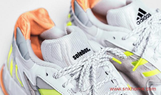 阿迪达斯与知名鞋店店铺联名打造 adidas Torsion TRDC阿迪达斯白灰色网面三杠跑鞋官图-潮流者之家