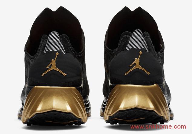 乔丹Zomm跑鞋黑金色低帮训练鞋 Jordan Trunner Ultimate全新配色发售日期 货号:CJ1495-007-潮流者之家