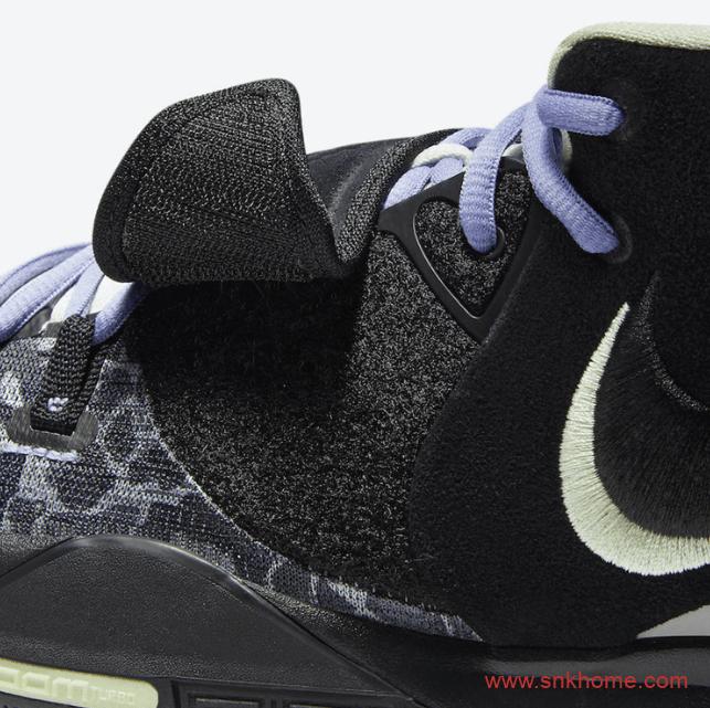 """黑迷彩欧文六代战靴 Nike Kyrie 6 """"Asia"""" 欧文6代球鞋致敬姐姐 货号:CD5031-00-潮流者之家"""