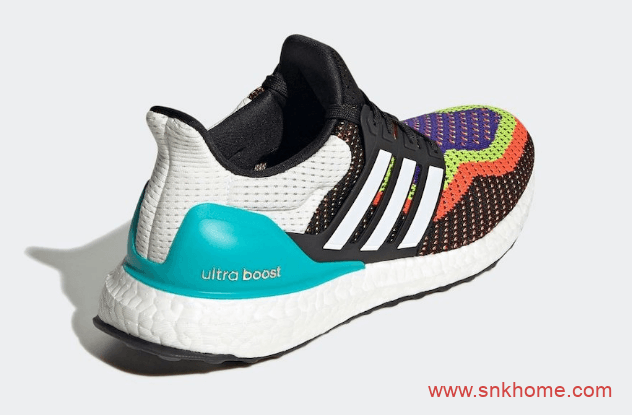 阿迪达斯UB炫彩装扮 adidas Ultra Boost DNA 阿迪达斯UB DNA配色即将发售 货号:FW8709-潮流者之家