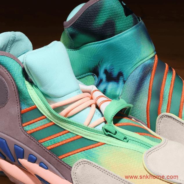 阿迪达斯菲董联名款球鞋 adidas PW 0 TO 60 STMT 阿迪达斯扎染配色拉链设计实战篮球鞋发售 货号:FV7333-潮流者之家