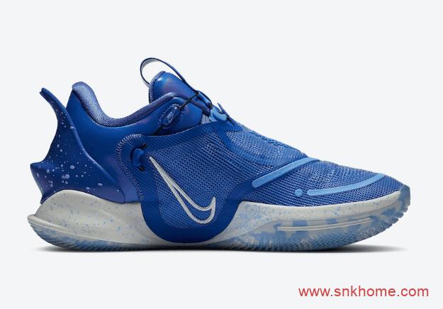 """耐克自动系鞋带球鞋皇家蓝配色 Nike Adapt BB 2.0 """"Royal"""" 耐克蓝色球鞋 货号:BQ5397-400-潮流者之家"""