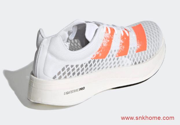 阿迪达斯顶级跑鞋 adizero adios Pro 全新阿迪达斯碳板跑鞋白色已经发布-潮流者之家
